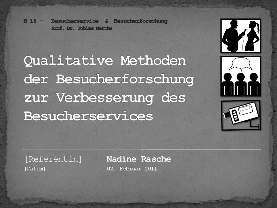 [Referentin] Nadine Rasche
